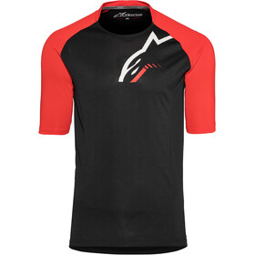 Alpinestars Trailstar Shortsleeve Jersey Herr black/red